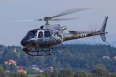 EUROCOPTER AS-350B-3 ECUREUIL stock photos