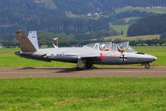 Fouga CM-170 Magister Royalty Free Stock Photos