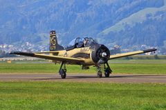 North American T-28B Royalty Free Stock Photo
