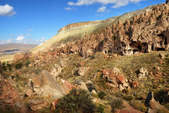 Zelve, Cappadocia, Turcja Zdjęcie Stock