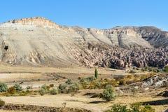 Zelve-Tal in Cappadocia Die Türkei Lizenzfreie Stockfotografie