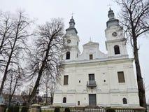 Zemaiciu Kalvarija bazylika, Lithuania obraz stock