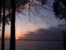 Zemborzycki fjärd Arkivbild