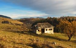 Zemelen - Poarta-dorp in Brasov, Transsylvanië Roemenië Royalty-vrije Stock Fotografie
