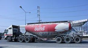Zement-LKW Lizenzfreies Stockbild