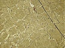 Zementböden sind gebrochen lizenzfreie stockfotografie