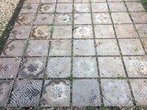 Zementboden ist ein schönes Muster lizenzfreies stockbild