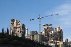 Zementfabrik Stockbilder