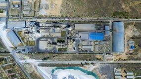 Zementfabrikporzellan Lizenzfreies Stockfoto