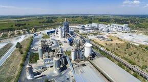 Zementfabrikporzellan Lizenzfreie Stockfotos
