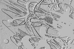 Zementhintergrund, abstraktes graues Design Stockbild