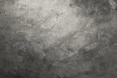 Zementieren Sie Boden mit schwarzem Ton, Dachbodenart Stockbild