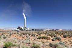 Zementieren Sie Fabrik in der Wildnis von Utah, USA Stockbilder