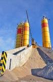 Zementindustrie lizenzfreie stockfotografie