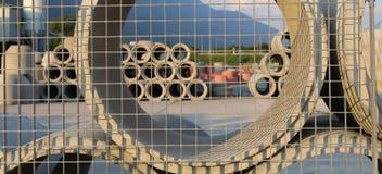 Zementrohre Lizenzfreie Stockbilder