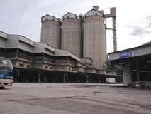 Zementverpackungsanlage Lizenzfreies Stockbild