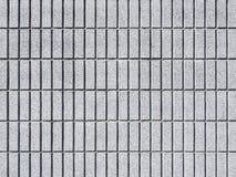 Zementwand deckt Muster Texturhintergrund mit Ziegeln Lizenzfreie Stockbilder
