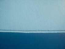 Zementwand draußen Lizenzfreies Stockfoto