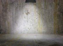 Zementwand-Hintergrundstadium Stockfoto