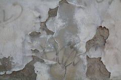 Zementwand im Freien stockbild