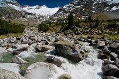 At  Zemmground, Zillertaler Alps, Austria Royalty Free Stock Image