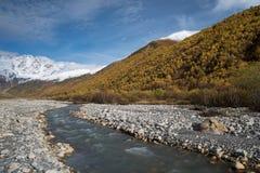 Zemo Svaneti Autumn, Georgia Stock Images