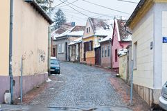 Zemun district of Belgrade Royalty Free Stock Images