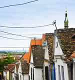 Zemun rooftops in Belgrade Royalty Free Stock Photography