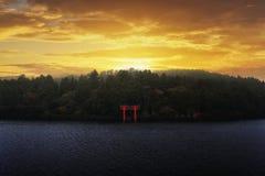 Zen świątyni symbol Zdjęcia Royalty Free