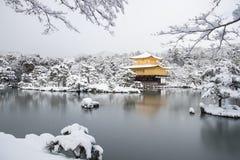 Zen świątynia Kinkakuji Obraz Stock