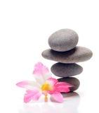 Zen. Stones on white background Royalty Free Stock Image