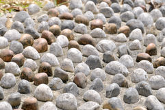 Zen. Spa And Pebble Stones For Background Royalty Free Stock Image
