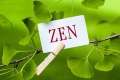 zen Zdjęcie Stock