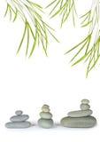 zen abstrait de pierre de station thermale Photo libre de droits