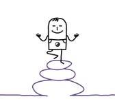 Zen & yoga Immagine Stock Libera da Diritti