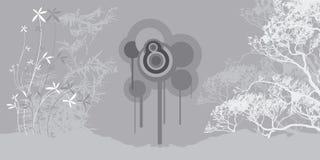 Zen art 2. Bamboo Royalty Free Stock Image