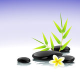Zen background Royalty Free Stock Images