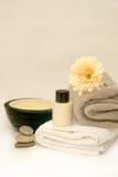 Zen-Badezimmer-Badekurort Stockfoto