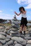 Zen balance 8 Stock Images
