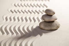 Zen balance for serenity Stock Photography