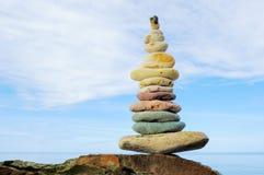 Zen balance of stones Royalty Free Stock Image