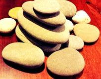 Zen Balanced Stones 2 photos libres de droits