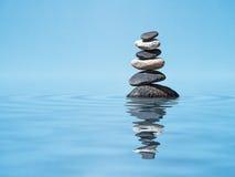 Zen balanced stones stack Stock Photos
