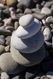 Zen Balancing Pebbles Stone Stack Stock Afbeeldingen