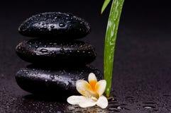 Zen balancing stone Royalty Free Stock Images