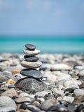 Zen balanserad stenbunt Royaltyfria Bilder