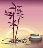 Zen Bamboo illustration libre de droits