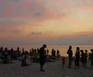 Zen Beach Koh Phangan, Thailand Arkivfoto