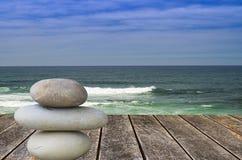 Zen beach Stock Photo