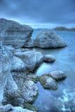 Zen blu Fotografie Stock